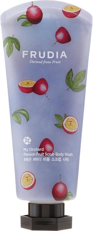 Gel doccia scrub al profumo di frutto della passione - Frudia My Orchard Passion Fruit Scrub Body Wash