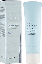 Profumi e cosmetici Peeling delicato per purificare la pelle dalle cellule morte - The Saem Cell Renew Bio Micro Peel Soft Gel