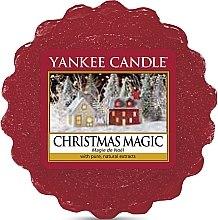 Profumi e cosmetici Cera profumata - Yankee Candle Christmas Magic Tarts Wax Melts