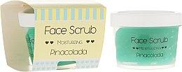 Profumi e cosmetici Scrub idratante per viso e labbra - Nacomi Moisturizing Face&Lip Scrub Pinacolada