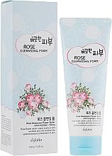 Profumi e cosmetici Schiuma detergente - Esfolio Pure Skin Rose Cleansing Foam