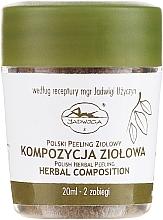 Profumi e cosmetici Peeling alle erbe - Jadwiga Herbal Composition Peeling