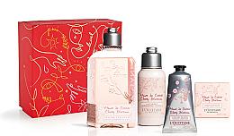 Profumi e cosmetici Set - L'Occitane Cherry Blossom (sh/gel/250ml + b/lot/75ml + soap/50g + h/cr/75ml)