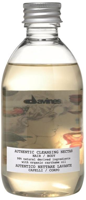 Dettergente nettare corpo e capelli - Davines Authentic Cleansing Nectar — foto N1