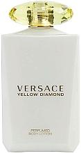 Profumi e cosmetici Versace Yellow Diamond - Lozione corpo
