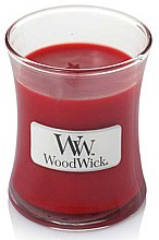 Profumi e cosmetici Candela profumata in bicchiere - WoodWick Hourglass Candle Pomegranate