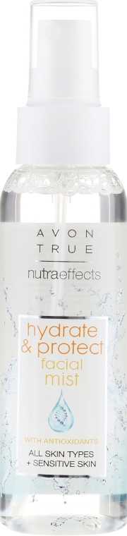 Mist viso - Avon True Nutra Effect Hydrate & Protect Facial Mist — foto N2