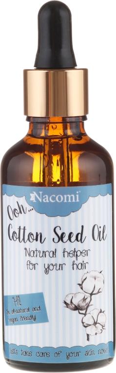 Olio di semi di cotone, con pipetta, per capelli - Nacomi Cotton Seed Oil