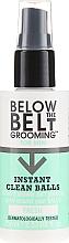 Profumi e cosmetici Spray rinfrescante per l'igiene intima - Below The Belt Grooming Instant Clean Balls Fresh