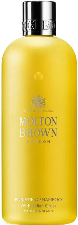 Shampoo per capelli con estratto di crescione - Molton Brown Purifying Shampoo With Indian Cress