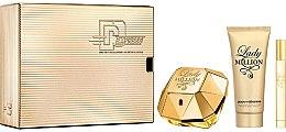 Profumi e cosmetici Paco Rabanne Lady Million - Set (edp/80ml + edp/10ml + b/lot/100ml)