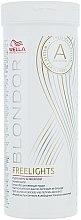 Profumi e cosmetici Polvere decolorante illuminante bianca per capelli - Wella Professionals Blondor Freelights