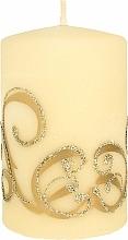 Profumi e cosmetici Candela decorativa, crema, 7x10 cm - Artman Christmas Ornament