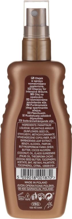 Spray-Olio idratante per corpo - Avon Sun Care — foto N2