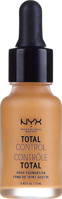 Fondotinta - NYX Professional Makeup Total Control Drop Foundation