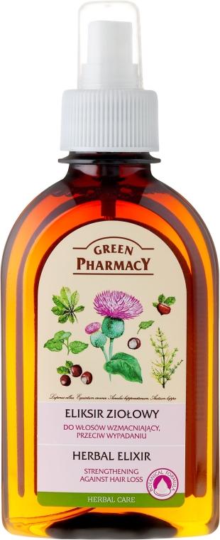Infuso di erbe contro perdita di capelli - Green Pharmacy