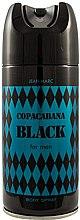 Profumi e cosmetici Jean Marc Copacabana Black For Men - Deodorante