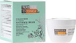 Profumi e cosmetici Crema opacizzante per viso, muschio islandese - Natura Estonica Iceland Moss Matt Face Cream