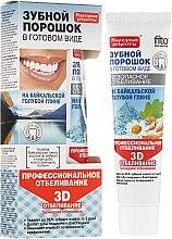 """Profumi e cosmetici Polvere per i denti con argilla blu di Baikal """"3D"""" - Fito Cosmetics"""