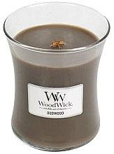 Profumi e cosmetici Candela profumata in vetro - WoodWick Hourglass Candle Oudwood