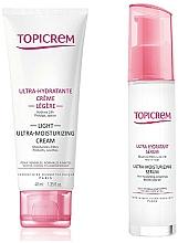 Profumi e cosmetici Set - Topicrem Skin Care Gift Set (cr/40ml+ser/7ml)