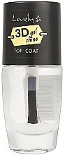 Profumi e cosmetici Top Coat - Lovely 3D Shine