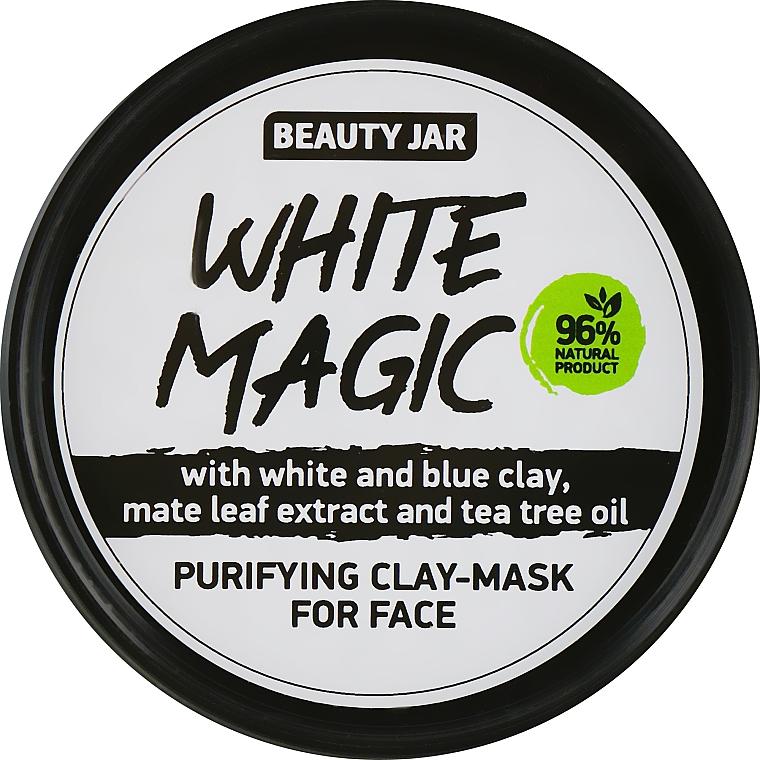 Maschera viso con estratto di foglie di mate - Beauty Jar White Magic