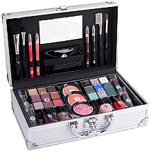 Profumi e cosmetici Beauty case - Cosmetic 2K Fabulous Beauty Train Case Complete Makeup Palette