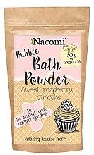 Profumi e cosmetici Polvere da bagno - Nacomi Sweet Raspberry Cupcake Bath Powder