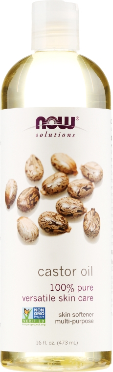 Olio di ricino - Now Foods Solution Castor Oil