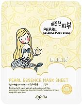 Profumi e cosmetici Maschera con perle per viso - Esfolio Essence Mask Sheet