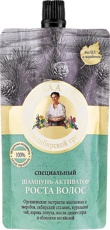 Shampoo attivatore per stimolare la crescita dei capelli - Ricette della nonna Agafia Bania