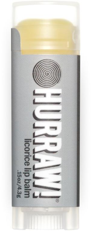 """Balsamo labbra """"Liquirizia"""" - Hurraw! Licorice Lip Balm — foto N1"""