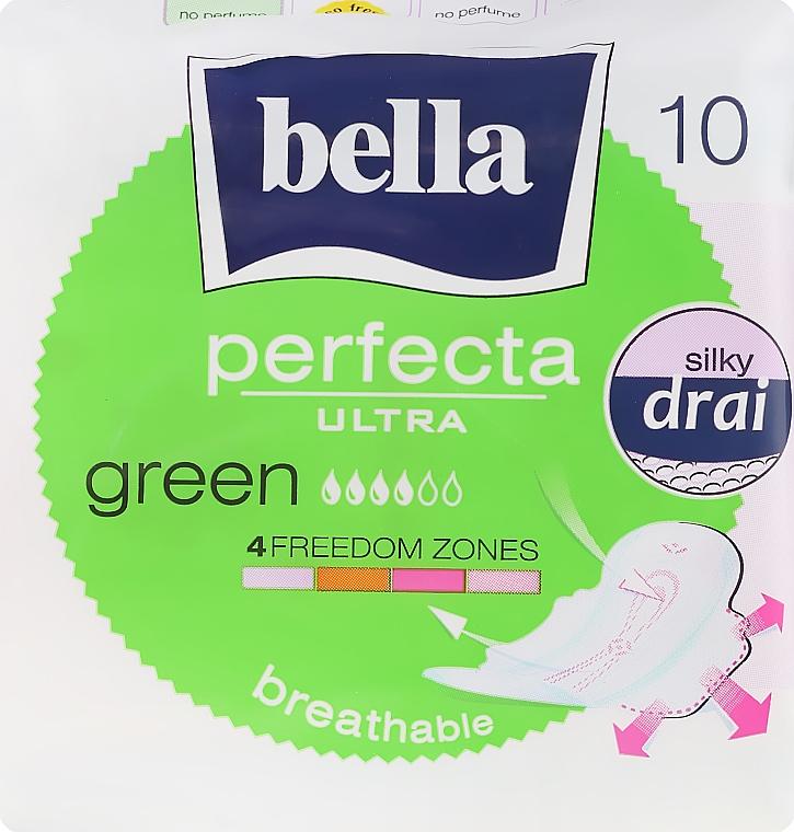Assorbenti Perfecta Green Drai Ultra, 10 pz - Bella