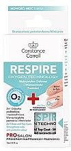 Profumi e cosmetici Base e finitura per manicure 2 in 1 - Constance Carroll Nail Care Respire Oxygen Technology