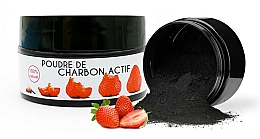 """Profumi e cosmetici Polvere sbiancante denti """"Fragola"""" - Keeth Strawberry-flavoured Activated Charcoal Bleaching Powder"""