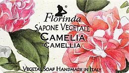 """Profumi e cosmetici Sapone naturale """"Camelia"""" - Florinda Sapone Vegetale Camellia"""