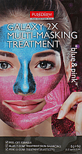 "Profumi e cosmetici Multi-maschera viso ""Blu / Rosa"" - Purederm Galaxy Multi Masking Treatment Blue & Pink"