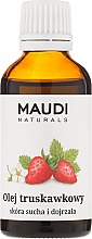 Profumi e cosmetici Olio di fragola - Maudi