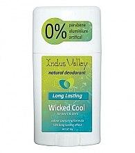 Profumi e cosmetici Deodorante-stick - Indus Valley Wicked Cool Deodorant Stick