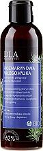Profumi e cosmetici Shampoo antiforfora al rosmarino - DLA