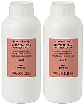 Profumi e cosmetici Maschera corpo bifasica - Comfort Zone Body Strategist Nutritional Mask Base 1 + Base 2