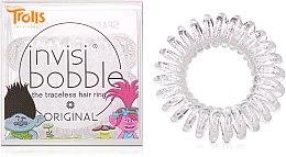 Profumi e cosmetici Elastici a spirale per capelli - Invisibobble Troll Sparkling Clear
