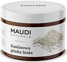 Profumi e cosmetici Argilla bianca per viso caolinica - Maudi