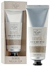 Profumi e cosmetici Crema mani - Scottish Fine Soaps Oatmeal Hand & Nail Cream