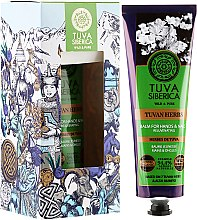 Profumi e cosmetici Balsamo mani rigenerante - Natura Siberica Tuva Siberica Tuvan Herbs Rejuvenating Balm For Hands And Nails