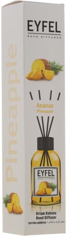 "Diffusore aromatico ""Ananas"" - Eyfel Perfume Reed Diffuser Ananas"