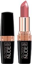 Profumi e cosmetici Rossetto - Wibo Glossy Nude Lipstick