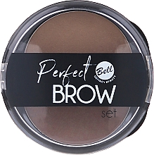 Profumi e cosmetici Set ombretti per sopracciglia con applicatore - Bell Perfect Brow Set