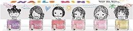 Profumi e cosmetici Set smalti unghie per bambini 6x7ml - Snails Mini Bebe
